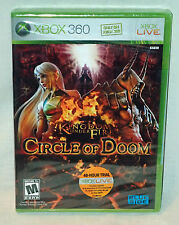 Kingdom Under Fire : Circle of Doom Xbox 360 Game Brand New & Factory Sealed
