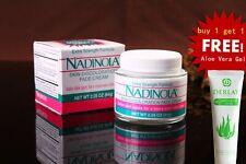 Nadinola Skin Discoloration Fade Cream Extra Strength with a Free Aloe Vera Gel