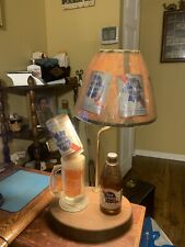 Vintage Pabst Blue Ribbon Beer Table Lamp (Rare)