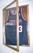 JERSEY DISPLAY CASE  Sports Frame  Free hanger and shipping