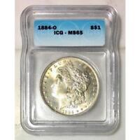 1884 O Morgan Dollar ICG MS65 #125378