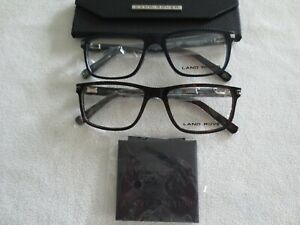 Land Rover glasses frames. Grayson. Brown or navy. New with case.