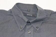 E7531 Eterna Excellent Businesshemd Kurzarm 41 Dunkelgrau Weiß Meliert Unifarben