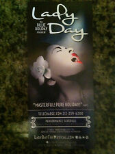 Lady Day the Billie Holiday musical ad/flyer Broadway NYC Dee Dee Bridgewater