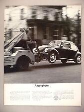 Volkswagen VW Beetle Bug PRINT AD ~ 1971