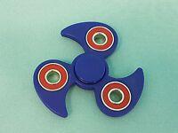 Fidget Spinner Blau Ninja Finger Hand Kreisel ADHS  EDC Anti Stress Spinnerz