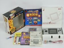 Neo Geo Pocket Color Platinum Silver Console   OHANABI Pachi Slot Boxed SNK 0883