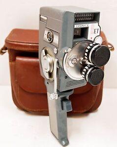"""CAMERA """"CROWN OPTICAL"""" - Modèle """"  CRONICA 8 ET """"  -  8 mm - 1964"""