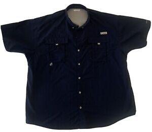 mens columbia pfg shirt xxl