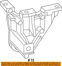 CHRYSLER OEM A/C AC Condenser/Compressor/Line-Compressor Bracket 4891594AA