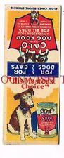 1930s Calo Dog Food Oakland California Matchcover Tavern Trove