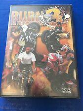 Burn 3 On the Westcoast DVD Movie Video Motorycle Stunt Stunting Riders Bike