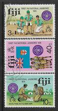 FIJI 1974 4th ANNIVERSARY INDEPENDENCE 3v FINE USED
