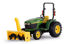 NEW! 2015 ERTL 1:16 John Deere Model 4310 Utility Tractor w/SNOW BLOWER *NIB!*