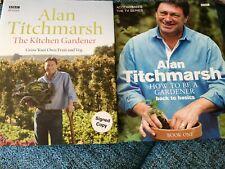 Alan Titchmarsh Gardening Books x2