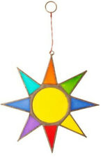 Bright Star Sun Catcher Rainbow Suncatcher Hanging Handmade Bali Resin Gift