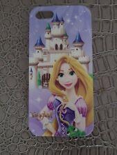 Hülle Plastik starr Schutzhülle Apple iPhone 5 - Rapunzel Disney