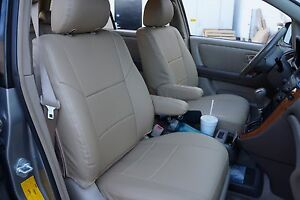 LEXUS RX 350 2009-2020 IGGEE S.LEATHER CUSTOM FIT SEAT COVER 13 COLORS AVAILABLE