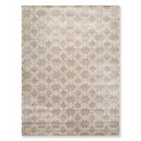 9' x 12' Handmade 100% Wool Traditional Oriental Area rug Contemporary Gray