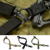 New Adjustable 2-Point Tactical Rifle Sling Airsoft Paintball Hunting Strap Belt