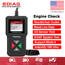 Automotive OBD2 Scanner Code Reader Battery Test Car Engine Diagnostic Tool
