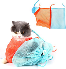 Xlsfpy Cat Grooming Bag, Multifunctional Car Bathing Bag Prevent From Scratching