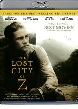 The Lost City of Z (Blu Ray Movie) Robert Pattinson Sienna Miller AOB