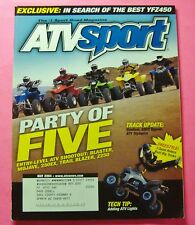 ATV SPORT MAGAZINE MAY/2004...PARTY OF FIVE: ENTRY-LEVEL ATV SHOOTOUT