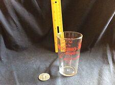vintage (1930's) Phospho-Soda (Fleet) glass - Hazel Atlas Co. 31/2 inches tall