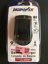 DIGIPOWER® QC-500S Digital-DSLR-Video Camera BATTERY CHARGER – for SONY® (KTC13)