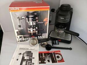 Krups Espresso Mini Cappuccino Coffeemaker  Model 963/A Works Great #2E73