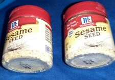 McCormick Sesame Seed Two (2) containers- 1 oz size