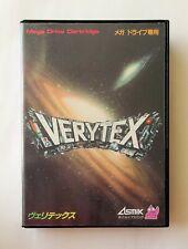 VERYTEX [ Asmik T-20043 ] Sega Mega Drive Japan