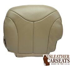 2000 2001 2002 GMC Yukon SLT Driver Side Bottom LEATHER Seat Cushion Cover Tan