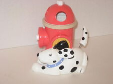 Jenny Jeff Faw Dog Parade Red Fire Hydrant Tail Moves Toothbrush Holder