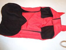 Bobby of France Dog Coat Simply Red SIZE 48~~NEVER WORN