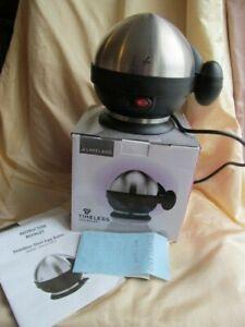 Lakeland Timeless Electric Stainless Steel Egg Boiler Cooker - Boxed - VGC