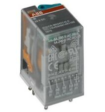 Box of 10 NEW ABB 1SVR405612R1100 Interface Relays 250V 10A 3 co / CR-M024DC3L