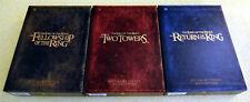 The Lord of the Rings: Special Extended DVD Edition Movie Trilogy Set ~ Rare OOP
