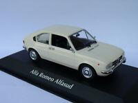 Alfa Roméo Alfasud de 1972 au 1/43 de Minichamps / Maxichamps