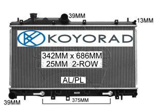 SUBARU FORESTER XT S3 3/2008-2012 2.5ltr TURBO RADIATOR *GENUINE KOYORAD*