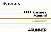 Bishko OEM Maintenance Owner's Manual Bound for Toyota 4Runner 1993