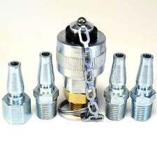 Schrader - Twist Lock Quick Coupler Air Hose Connector Fittings 1/4 NPT Plug Kit
