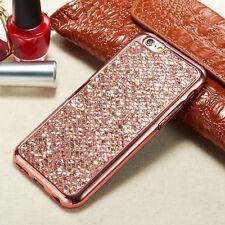 For iPhone & Samsung Luxury Glitter Bling Diamond TPU Soft Gel Phone Case Cover