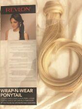 """Revlon 18"""" Wrap-N-Wear Ponytail - DARK BLONDE NEW IN FACTORY PACKAGE"""