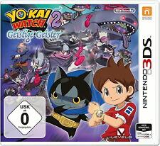 Yo-Kai Watch 2: Geistige Geister (New Nintendo 3DS, 2017) neu und ovp