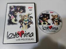 LOVE HINA DVD + EXTRAS LAS PELICULAS JONU MEDIA MANGA ANIMACION REGION 2