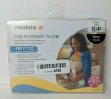 Medela Easy Expression Bustier Hands Free Breast Pumping Nude Small