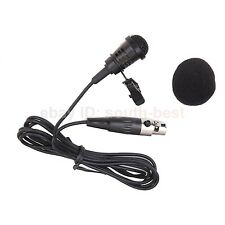 Lavalier Lapel Microphone For Shure AKG Samson GTD Audio Wireless System 5 plug