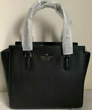 NWT Kate Spade Jackson Medium Leather Satchel Bag WKRU5940 $359 Black